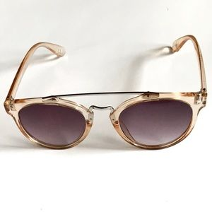 Free People Accessories - Free People Pale Rose Pink Sunglasses Sunnies
